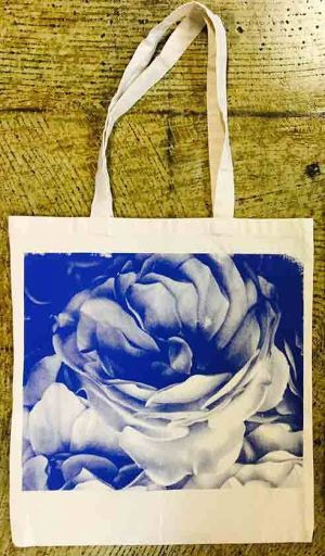 MERZ-0079 Flowers tote bag(small size)※受注販売