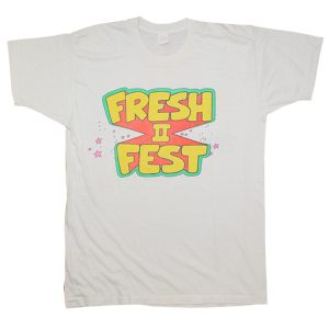 """Fresh Fest 2"" Vintage Rap Tee Used"