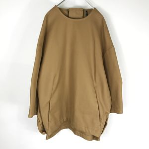 my beautiful landlet cotton pullover CAMEL