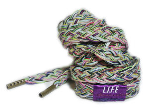 "Shoelace belt ""MIX"""