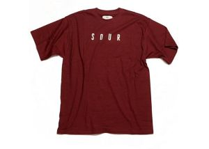 SOUR SOLUTION SOUR ARMY S/S TEE BURGUNDY サイズL