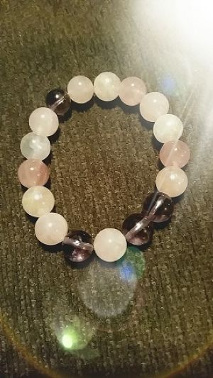 パワーブレスレット Power Stone bracelet Rose Quartz
