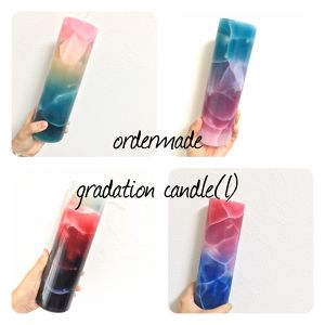 ordermade gradation candle(L)