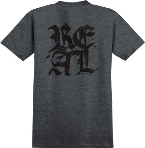 Real Old E Stacked Tee