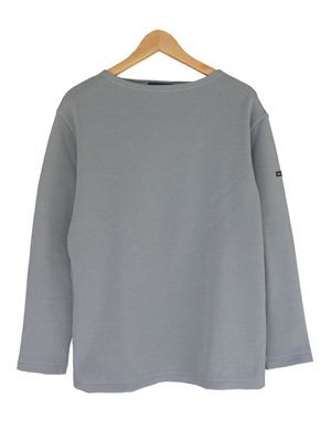 SAINT JAMES DOUBLEFACE SWEATER(セントジェームス ダブルフェースセーター)SILVER 00JC182/2