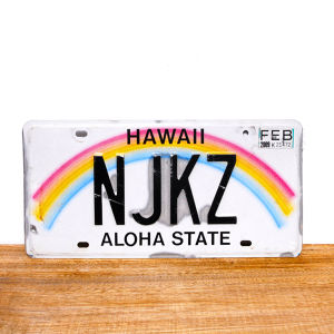 Hawaii license plates / 2009 / NJKZ