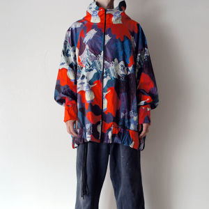 """クソ野郎"" UMA pattern oversized jacket"