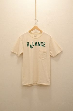 Mixta - Crew Neck Printed T-Shirt (Natural / Balance)