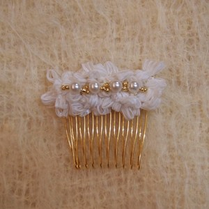 Ribbon Hairpin (WHITE)