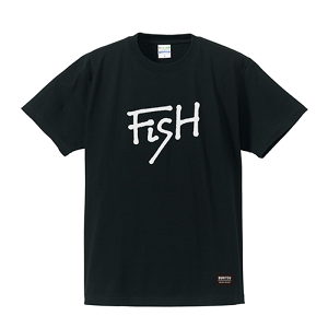 BURITSU FiSH Tee : Black