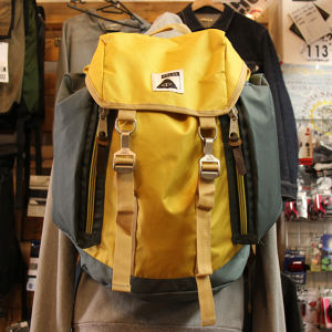 【30%OFF】POLeR Rucksack / Super Mustard/Dark Forest