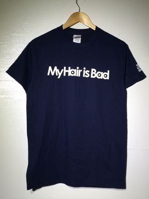 My Hair is Bad ロゴTee【ネイビー】