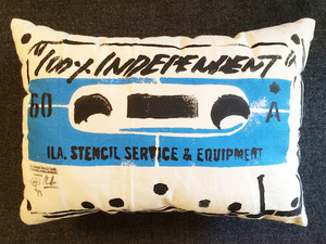 ILA. STENCIL TAPE   Cushion i-CTC-05 blue