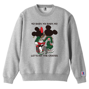 "予約アイテム ""Let's Hit The Cretes"" Sweat 12.4oz [B] Mens & Girls"