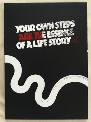 """AREth DVD """" YOUR OWN STEPS ARE THE ESSENCE OF A LIFE STORY """""""