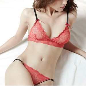 """Bouquet"" Tanga B -Mandarin red-"