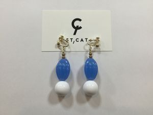 "ST,CAT "" Earring  3 """