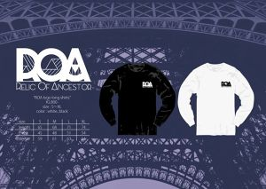 ROA New logo Long-Tshirts