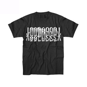 【受注予約商品】88POSSE T-shirt(BLACK×WHITE)