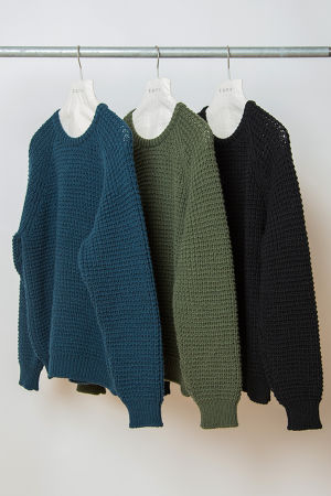 TO-AW16-KT05 FISHERMAN SWEATER