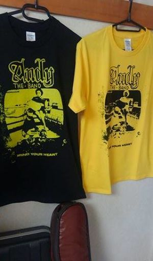 ANDY THE BAND Tシャツ