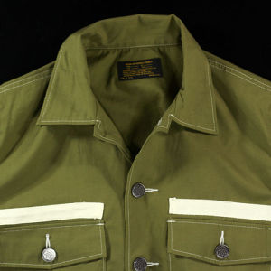 【REVIVAL90%PRODUCTS】TYPEWRITER ARMY SHIRTS LONG SLEEVE