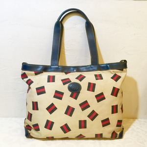 "SALE!!!! 70's Vintage ""GUCCI"" TOTE BAG from BERLIN [BAV-1]"