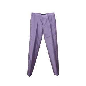Y/PROJECT SILK TROUSERS