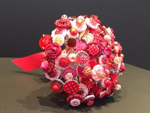 【ANARCHY DISCO】 Button Bouquet (RED) AD-B002