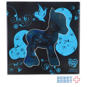 My Little Pony ART PONY BLACK&BLUE