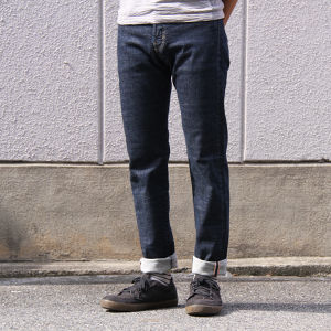 DEEPER'S WEAR HIGH KICK JEANS ONE WASH HK150009