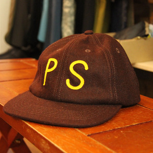 【20%OFF】POLeR WOOL PS CAP / BROWN