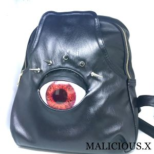 eye back pack / red