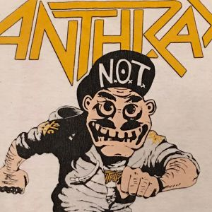 "Vintage 80s ANTHRAX "" MOSH IT UP ! "" Tee"