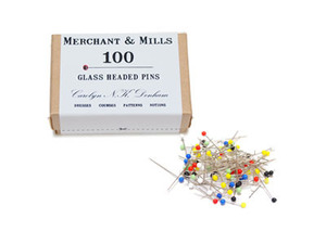 Merchant&Mills Glass Headed Pins