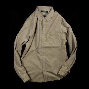 AIR CORDUROY SNAP SHIRTS BEIGE