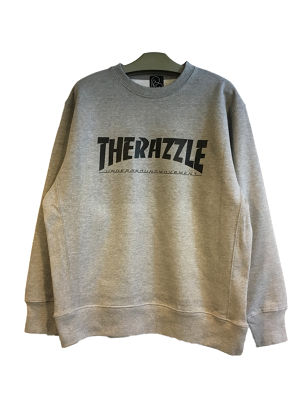RAZZLE / THE RAZZLE Crew Neck / GREY