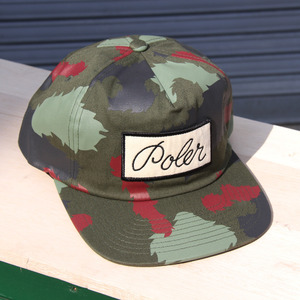 【10%OFF】POLeR OUTDOOR STUFF Unstructured Snapback / Green Camo