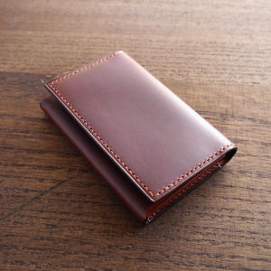 TETO 04 card case Ⅱ /red brown レッドブラウン
