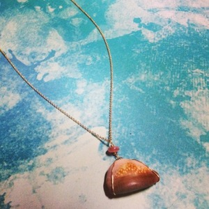 【SALE】Shell *Necklace 14kt gf