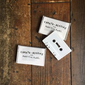 "CREATE-ACTiONS ""CREATE-ACTiONS"" 4 songs Cassette Tape"