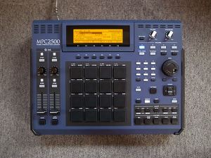 "MPC2500 ""WUV"" custom by ghostinmpc"