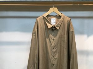 "WHOWHAT""5X SHIRT<LONG>BEIGE"""