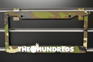 THE HUNDREDS Licence plate frames