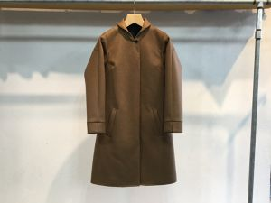 "Womens semoh""wool/cashmere round collar coat camel"""