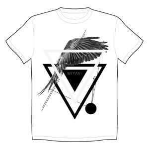 MIYAVI T-SHIRTS-feather-