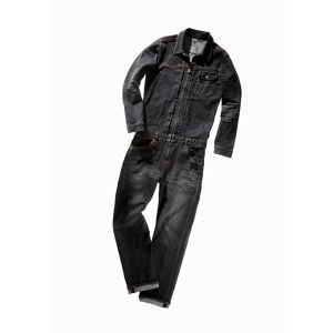 【限定30】RE:boNE☓MOTO NAVI DENIM JUMPSUIT