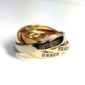 TRIPLE RING [18K] WHITE GOLD,YELLOW GOLD,PINK GOLD / トリプルリング ゴールド