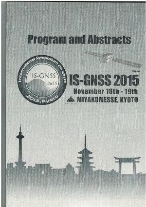 IS-GNSS2015 Abstract集