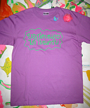 Thailand XXX tee (men's L) purple